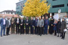 بازدید آقای دکتر حسن پور رئیس اداره فرهنگ و ارشاد اسلامی شهر رشت از آسایشگاه