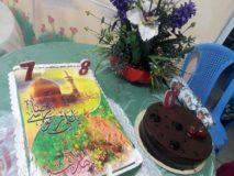 جشن تولد مددجویان متولدین تیرماه در آسایشگاه