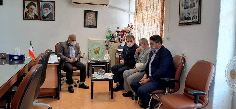 بازدید روابط عمومی و همکاران اداره برق استان گیلان