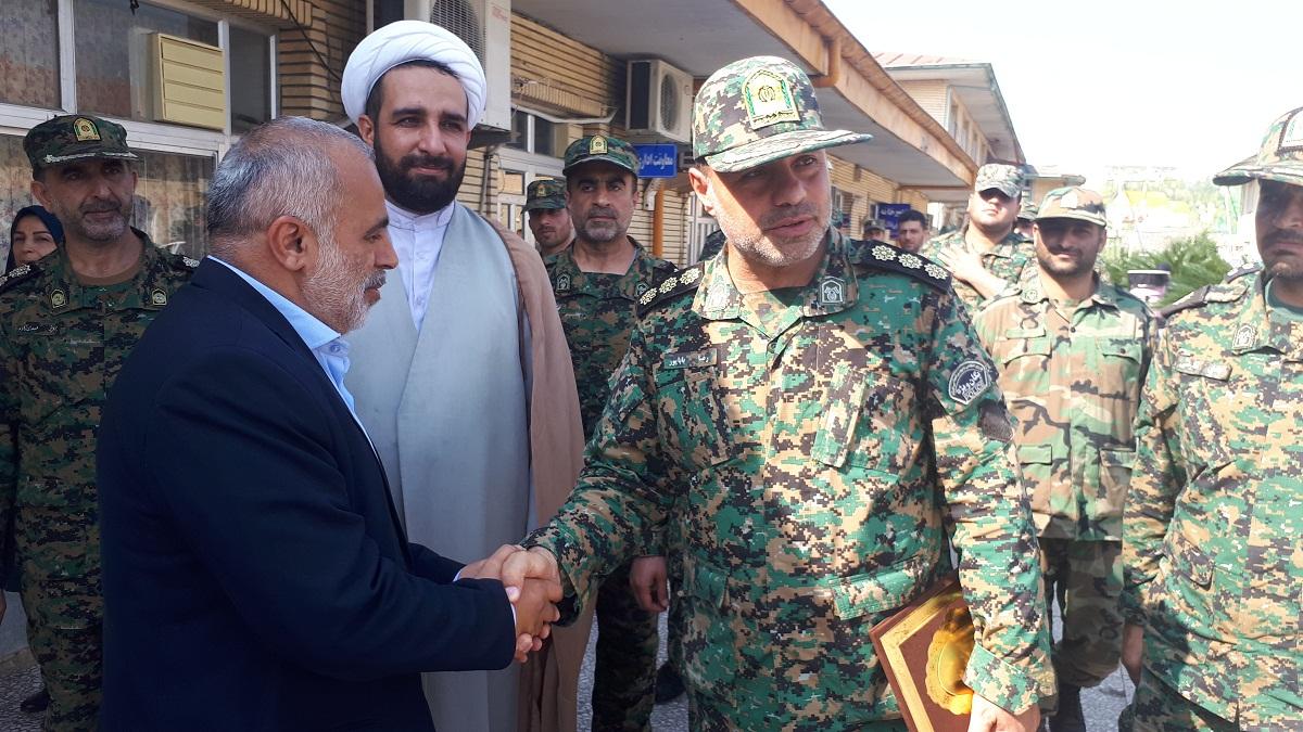 بازدید فرماندهی یگان ویژه استان گیلان از آسایشگاه