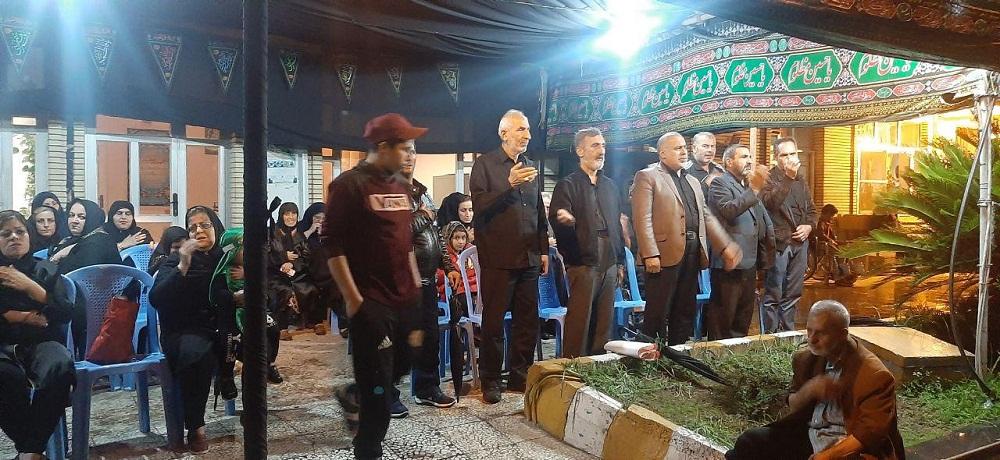 عزاداری سرور و سالار شهیدان ابا عبدالله الحسین (ع)