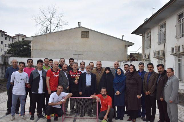 برگزاری مسابقات فوتبال گل کوچک جام فجر آسایشگاه