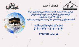 مشارکت در خرید گوسفند عید سعید قربان