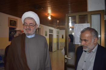بازدید غیر منتظره حضرت حجت الاسلام و المسلمین حاج صدیق عربانی از آسایشگاه