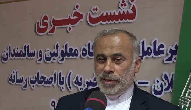 نشست مطبوعاتی حاج آقا حسینی مدیرعامل آسایشگاه با اصحاب رسانه استان