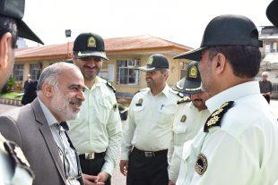 گالری بازدید فرماندهی محترم نیروی انتظامی شهرستان رشت