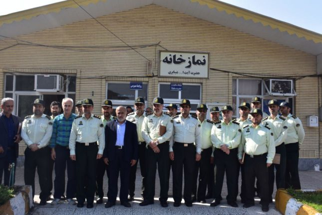 بازدید هفته نیروی انتظامی