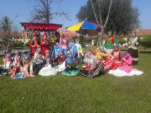 جشنواره هفت سین، غذا و صنایع دستی (دستسازهها)