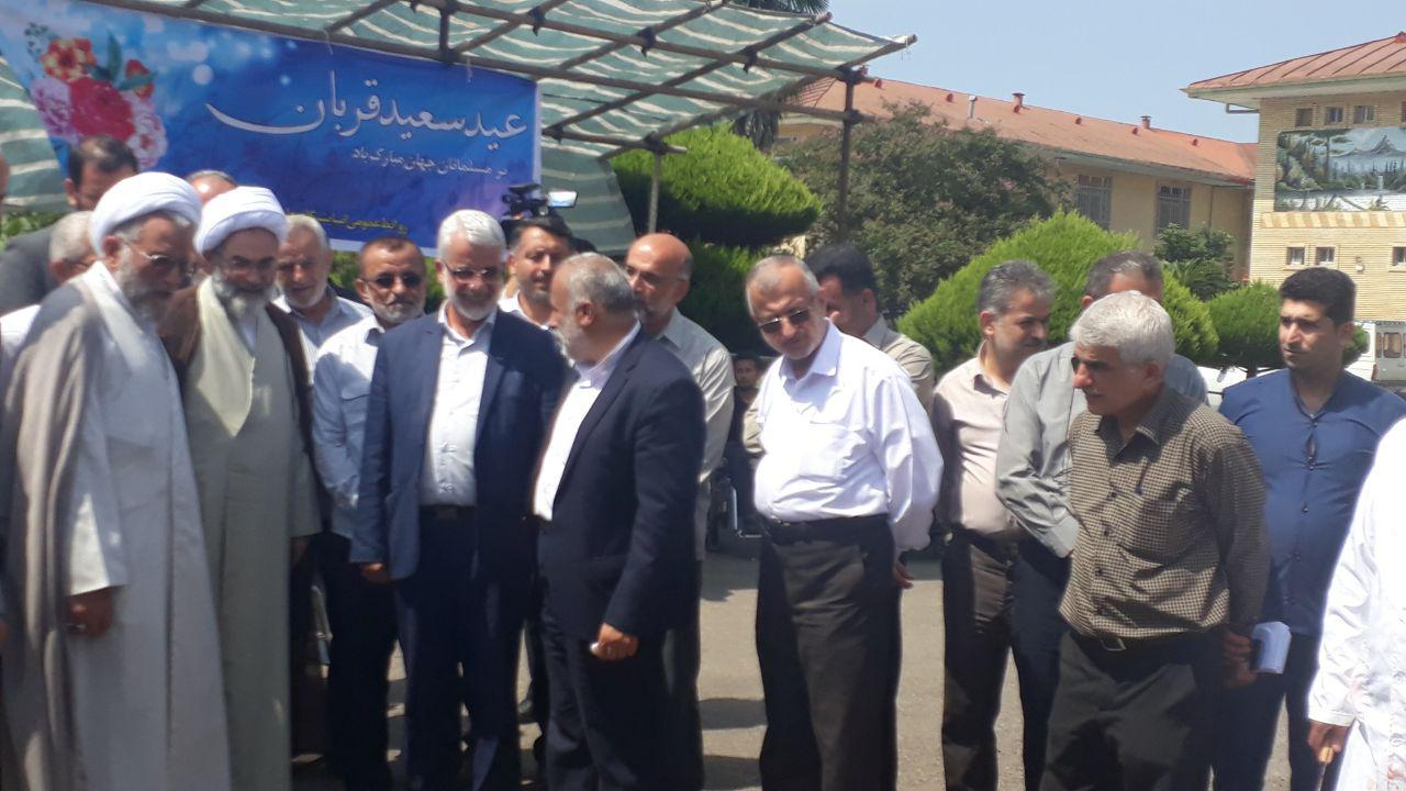 حضور گسترده و با شکوه مردمی در مراسم عید سعید قربان